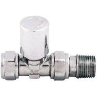 Plumbsure Straight Radiator valve