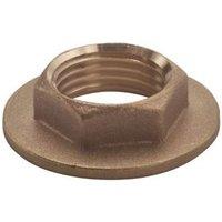 Plumbsure Brass Flanged Backnut (Dia)19mm