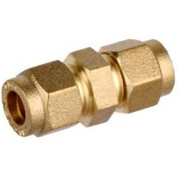 Compression Straight Coupler (Dia)8mm