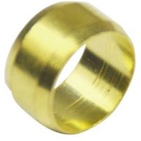 Plumbsure Brass Compression Olive  Pack of 4