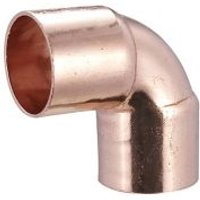 End feed Elbow (Dia)15mm  Pack of 2