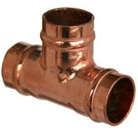 Copper Solder ring Equal Tee (Dia)15mm Pack of 5