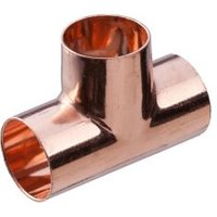 Copper End feed Equal Tee (Dia)28mm