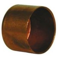 Copper End feed Stop end (Dia)22mm Pack of 2