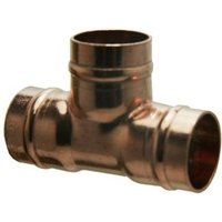 Copper Solder ring Equal Tee (Dia)22mm Pack of 5
