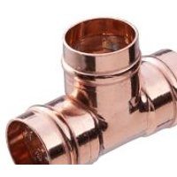 Copper Solder ring Equal Tee (Dia)15mm
