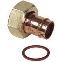 Solder Ring Connector (Dia)15mm  Pack of 2