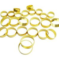 Plumbsure Brass Compression Olive  Pack of 24