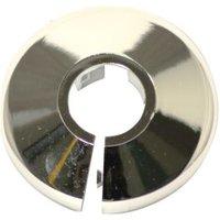 Plumbsure Chrome effect Pipe collar