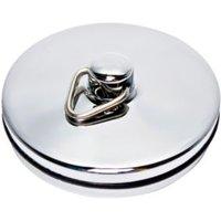 Plumbsure Metal Sink & Bath Plug Chrome Effect (Dia)40mm