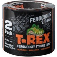 T-Rex Duct Tape (L)10.9M (W)48mm  Pack of 2