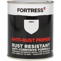 Fortress Grey Metal Anti-rust primer 0.75L