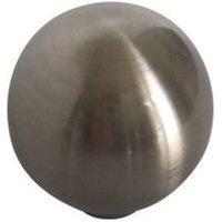 B&Q Satin Nickel Effect Round Internal Knob Cabinet Knob