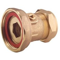 Brass Compression Pump valve 22mm x 12.7mm (Dia)22mm