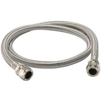 Compression Stainless steel Flexible Hose 428801-WNP (L)1m (Dia)15mm