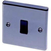 LAP Black nickel effect 10AX intermediate switch
