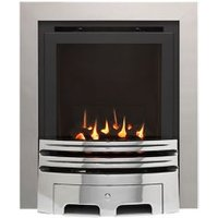 Ignite Westerly Chrome effect Gas Fire