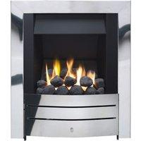 Ignite Maine Chrome effect Gas Fire