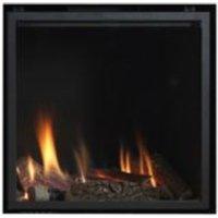 Ignite Pinnacle 60 Black Inset Gas Frameless Fire