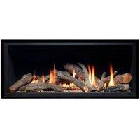 Ignite Pinnacle 860 Black Gas Fire