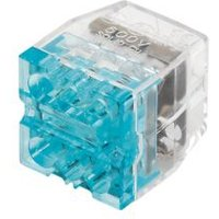 Ideal Blue 24A Push-In Wire Connector  Pack of 50