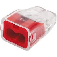 Ideal Red 32A Push-In Wire Connector  Pack of 100