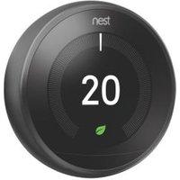 Google Nest 3rd Generation Learning thermostat Black
