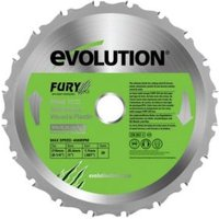 Evolution Fury 20T Mitre Saw Blade (Dia)210mm