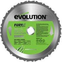 Evolution 24T Mitre Saw Blade (Dia)255mm