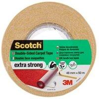 Scotch White Carpet Tape (L)25m (W)48mm