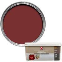 V33 Renovation Chilli Red Satin Floor Tile Paint2L