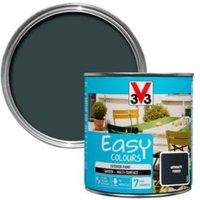 V33 Easy Anthracite Powder Furniture Paint 500 ml