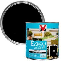 V33 Easy Black powder Furniture paint 500ml
