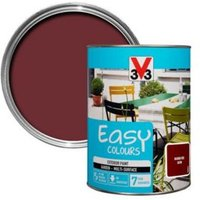 V33 Easy Basque red Satin Furniture paint 1.5L