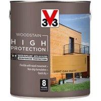 V33 High protection Light oak Matt Wood stain 2.5