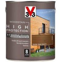V33 High protection Dark oak Matt Wood stain 2.5