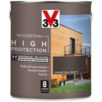 V33 High protection Charcoal Matt Wood stain 2.5