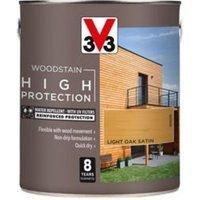 V33 High protection Light oak Mid sheen Wood stain 2.5