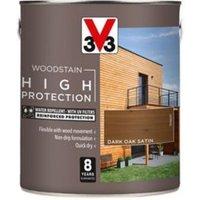 V33 High protection Dark oak Mid sheen Wood stain 2.5L