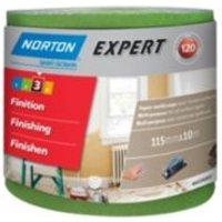 Norton 120 Grit Fine Sandpaper roll