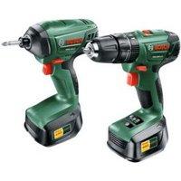 Bosch 2Ah Li-ion Drill & driver twin pack 2 batteries