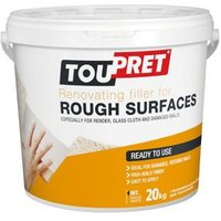 Toupret Rough Surface Ready mixed Finishing plaster 20kg Tub