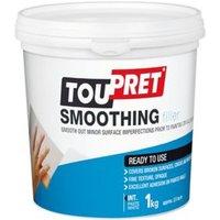 Toupret Fine finish Ready mixed Finishing plaster 1kg Tub
