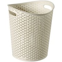 Curver My style White Basket (H)32.5cm (W)28cm