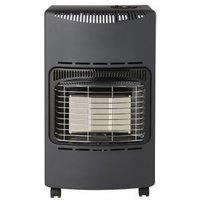 Greengear Coal black 4.2kW Mobile gas heater