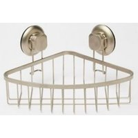 Cooke & Lewis Best Lock Satin Steel Shower Basket