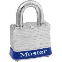 Master Lock Laminated Steel 4-Pin Tumbler Cylinder Open Shackle Padlock (W)40mm
