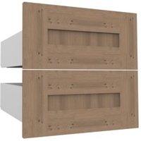 Darwin Modular Oak Effect External Drawers (H)237mm (W)500mm (D)566mm