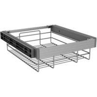 Darwin Silver effect Aluminium  plastic & wire Storage basket