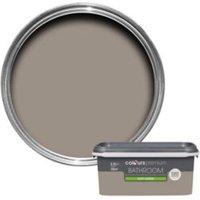 Colours Bathroom Taupe Soft Sheen Emulsion Paint 2.5L